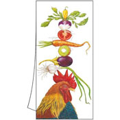 """Homer"" the Rooster Towel"