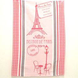 """Bistrot de Paris"" Towel"