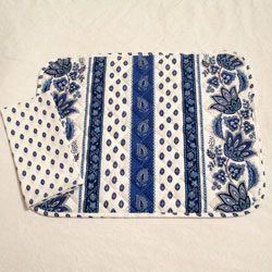 Blue and White Provensal Placemat