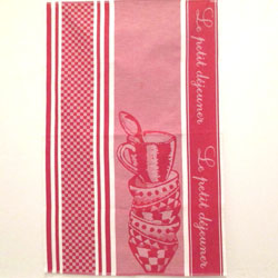 """Petit Dejeuner (breakfast) Towel"