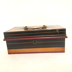 Vintage English Cash Box
