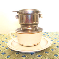 French One-Cup Coffee Maker