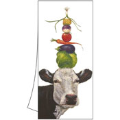 """Ida"" the Cow Towel"