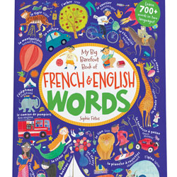 Children's French & English Words Book