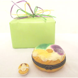 Porcelain King Cake Box