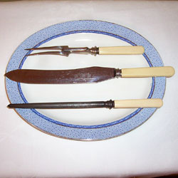 Vintage Carving Set