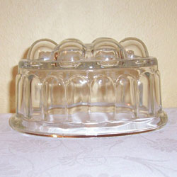 Vintage Glass Jelly Mold