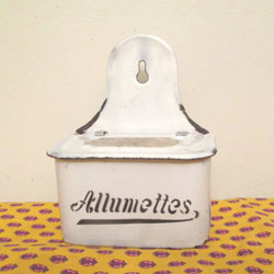 "French ""Allumetttes"" (matches) Box"