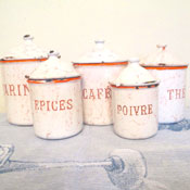 French Canister Set