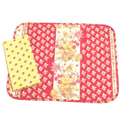 Raspberry and Yellow Provensal Placemat