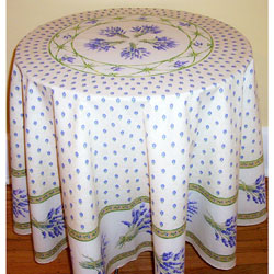 Provencal Tablecloth--Lavender