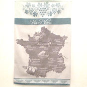 """Vin Blanc"" (white wine) Towel"