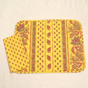 Yellow Provensal Placemat